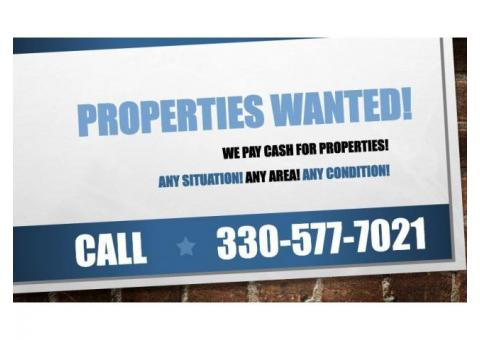 We are Looking for SEVERAL 2-3 Bed Houses! CASH!